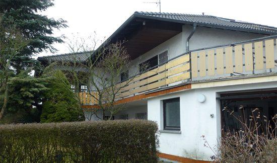 Haus vor Sanierung zur Plus-Energie-Villa - vorher - ecomfort