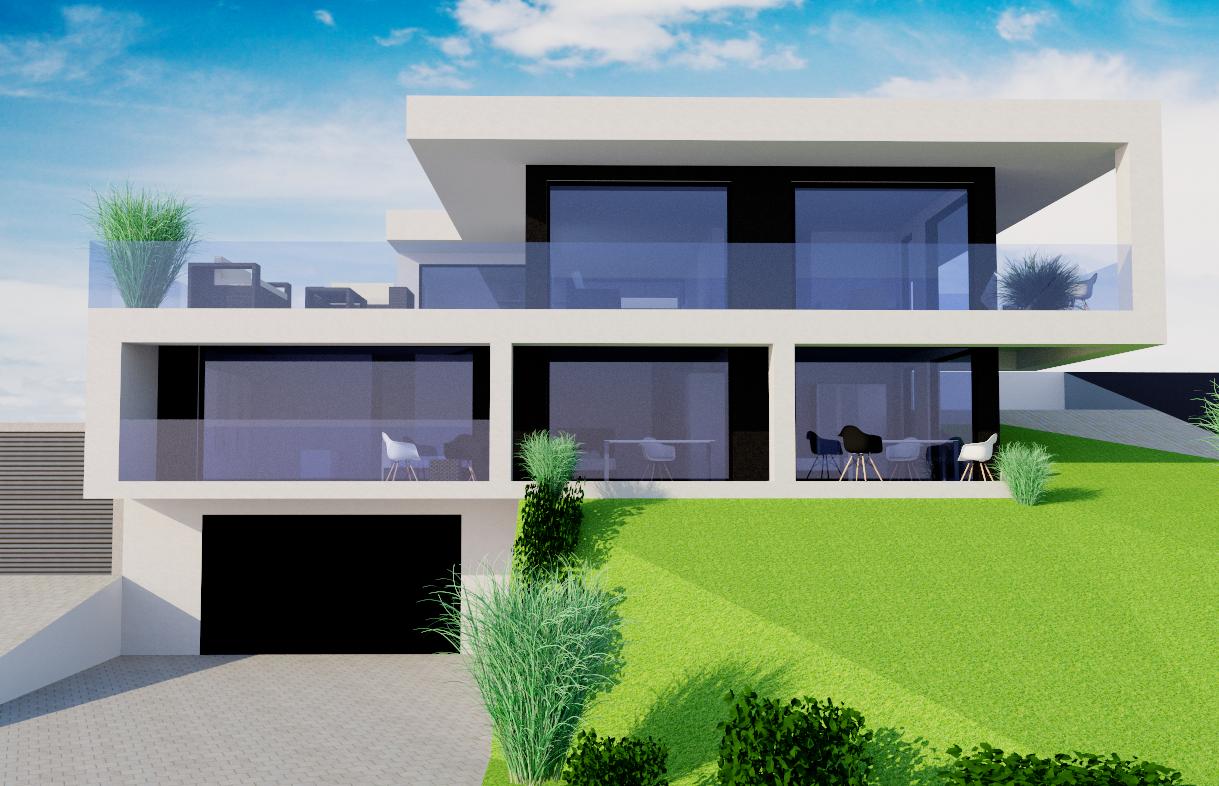 Plus-Energie-Villa in grüner Lage von Bad Soden