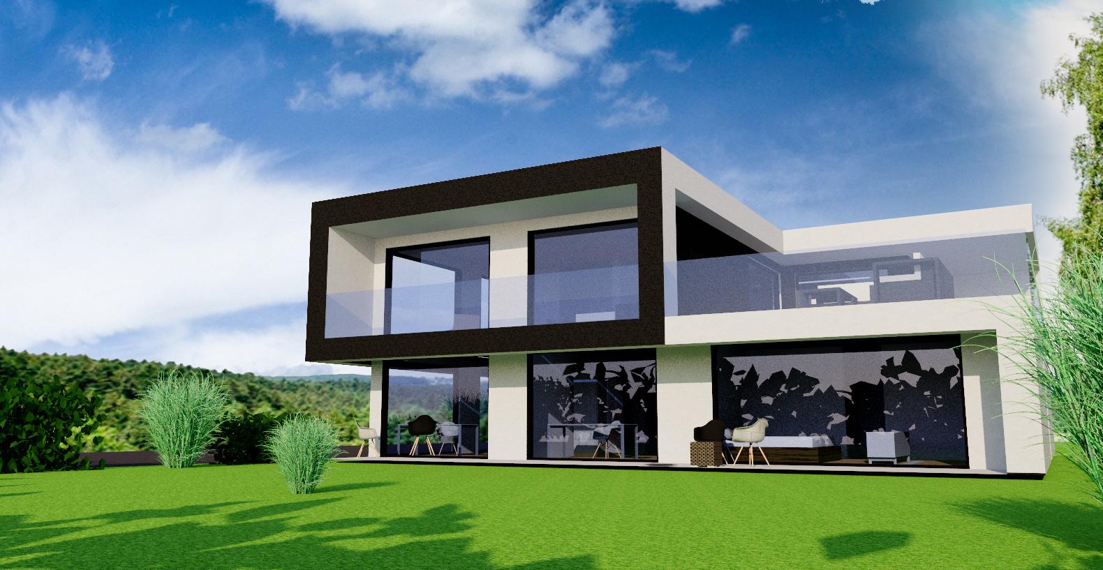Plus-Energie-Villa in Königstein